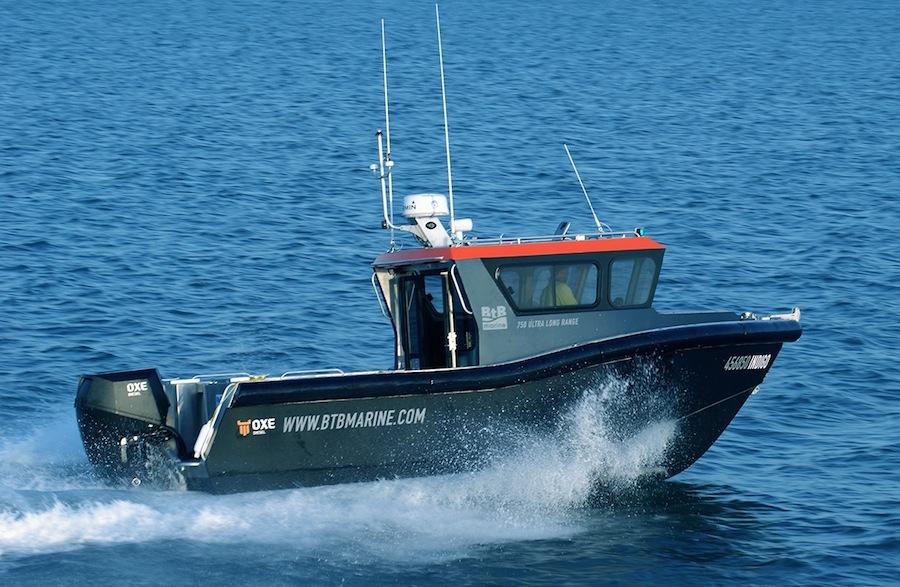 Btb marine 750ulr indigo side hero